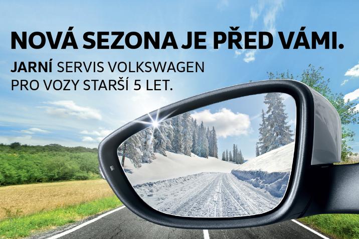 Jarní servisní akce VW 2019