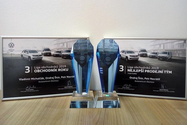 ocenení VW užitkové vozy