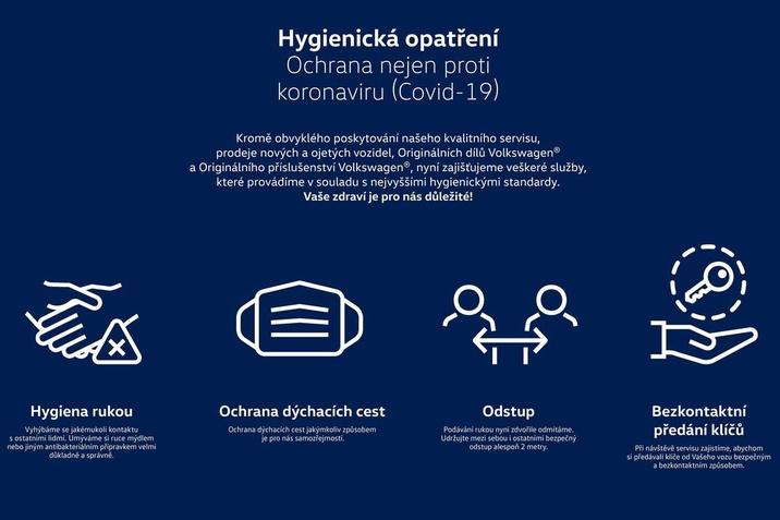 VW hygienická opatření COVID-19
